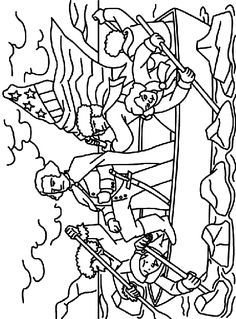 George Washington coloring page - President's Day