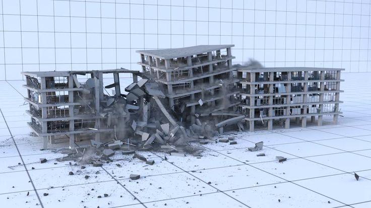 Houdini Destruction Simulation on Vimeo