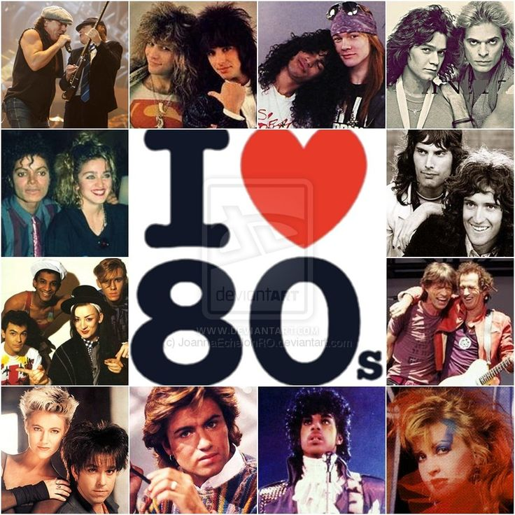 I love the 80's by JoannaEchelonRO.deviantart.com #80s #ilovethe80s #stayinalivenovi