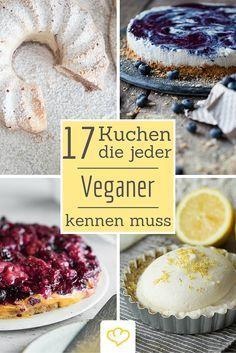 25 Kuchen für vegane Naschkatzen – Es geht auch ohne!
