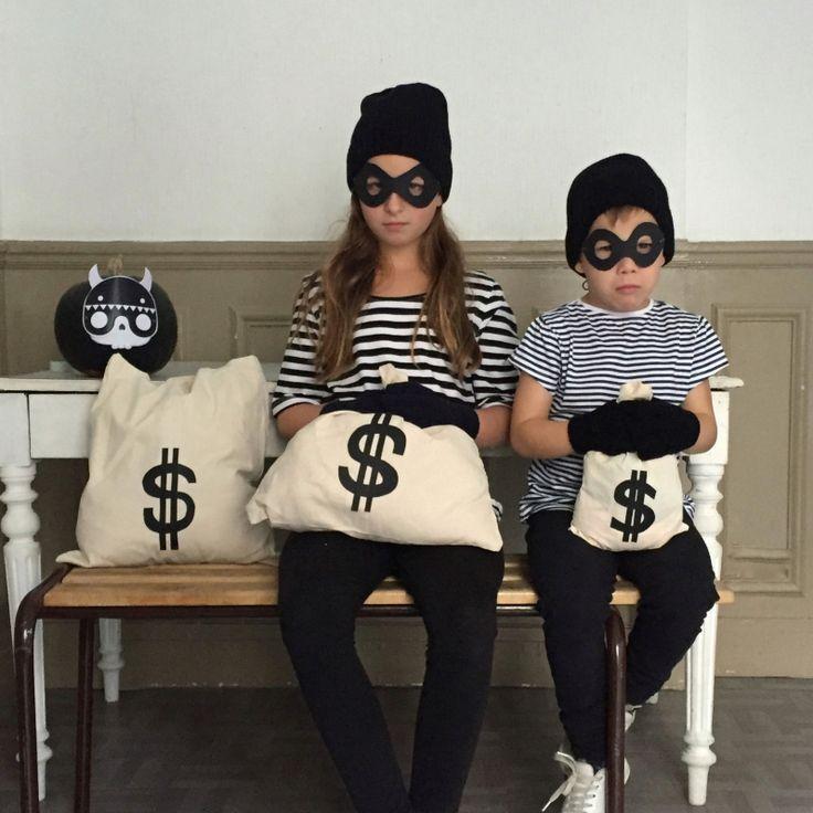 {DIY} Retour sur notre déguisement d'Halloween en famille!