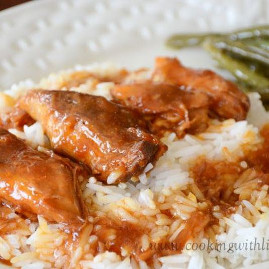 Russian Apricot Chicken {Slow Cooker Monday}