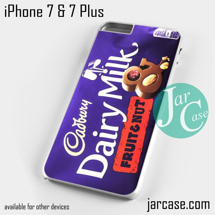 Cadbury Dairy Milk Fruit and Nut Phone case for iPhone 7 and 7 Plus