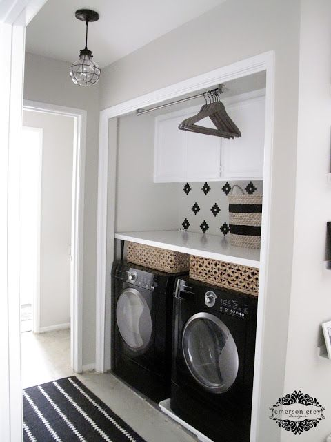 Love This Before And After Laundry Room Makeover Nicely Done