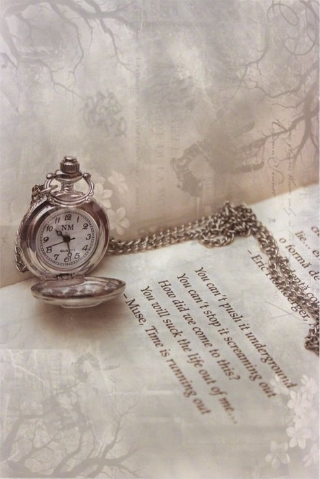 another faerie tale themed pin. (pocket watch, book, fucking magical.)