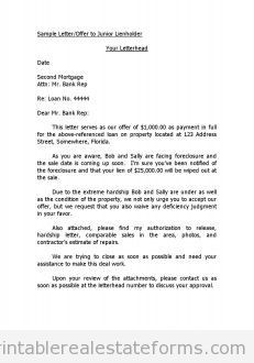 Real estate position cover letter