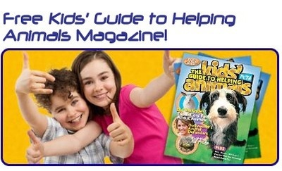 Free Magazine - Kid's Guide to Helping Animals