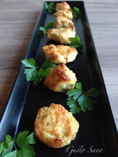 Bocconcini di pollo al Parmigiano