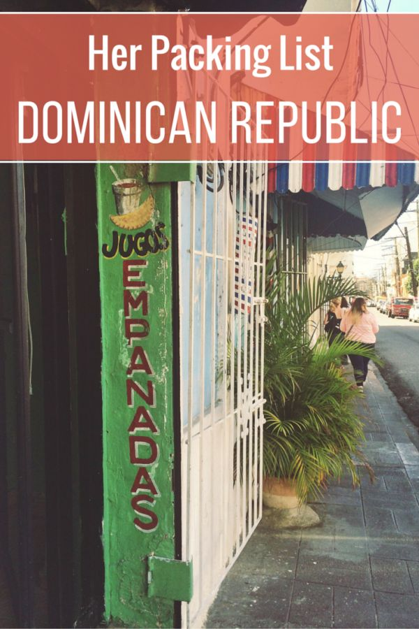 Caroline recently traveled to the Dominican Republic. She shares her female packing list for the Dominican Republic to help you prepare for your trip.