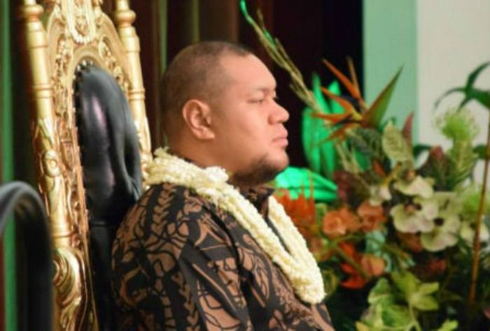Prince of Tonga tries to be baptized, but is prevented by His father #LDS