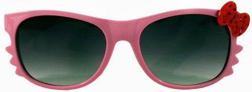 Kitty Whiskers Pink w/Red Polka Dot Bow Dark Shade Lens Sunglasses by Hey Kitty. $5.99. Dark Shade Lenses. Plastic Frame. Color: Pink. Perfect Gift Idea!. Bow Color: Polka Dot Red. Kitty Whiskers Sunglasses w/Dark Shades GET YOUR SWAG ON WITH GreaterGear!