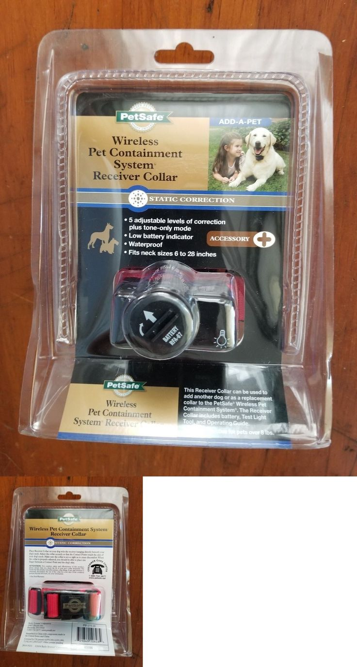 electronic fences petsafe wireless pet containment system receiver collar pif275