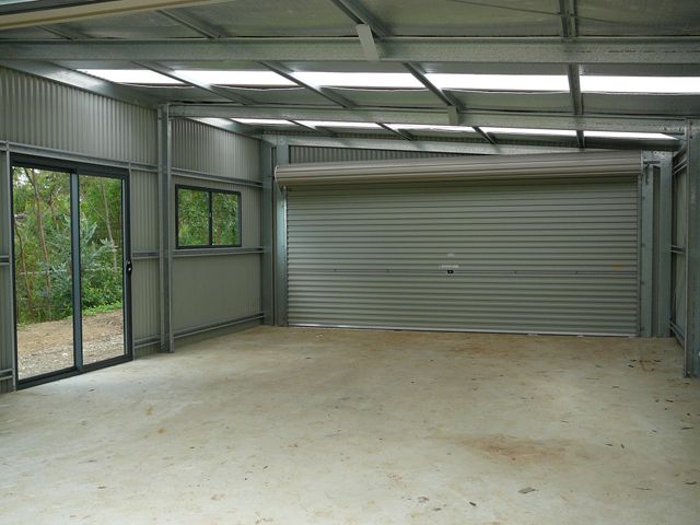 Skillion Roof Garage 6m x 9m x 3m H