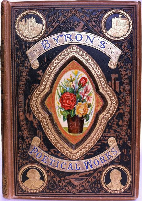 The Poetical Works of Lord Byron, Edinburgh: Gall & Inglis  [1884] The Landscape Series of Poets  | Beautiful Antique Books
