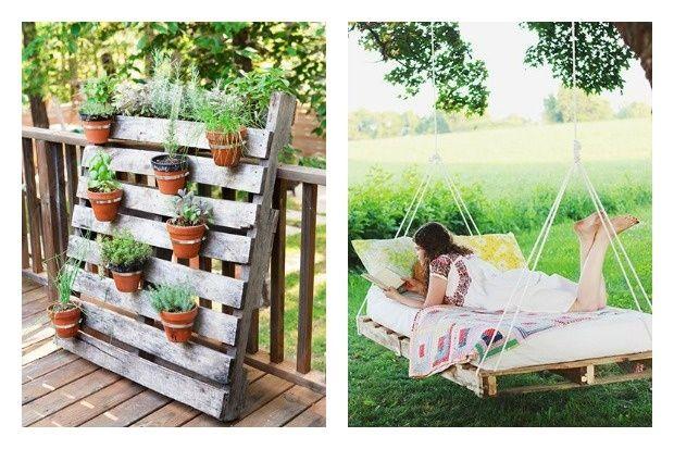 17 best images about reutiliza on pinterest mesas pets - Decoraciones de jardines exteriores ...