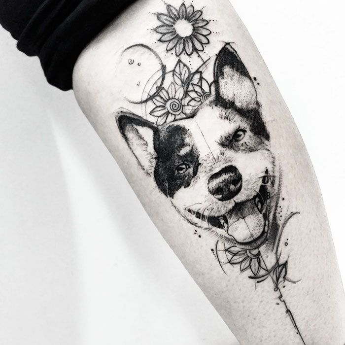 1000+ Ideas About Dog Tattoos On Pinterest