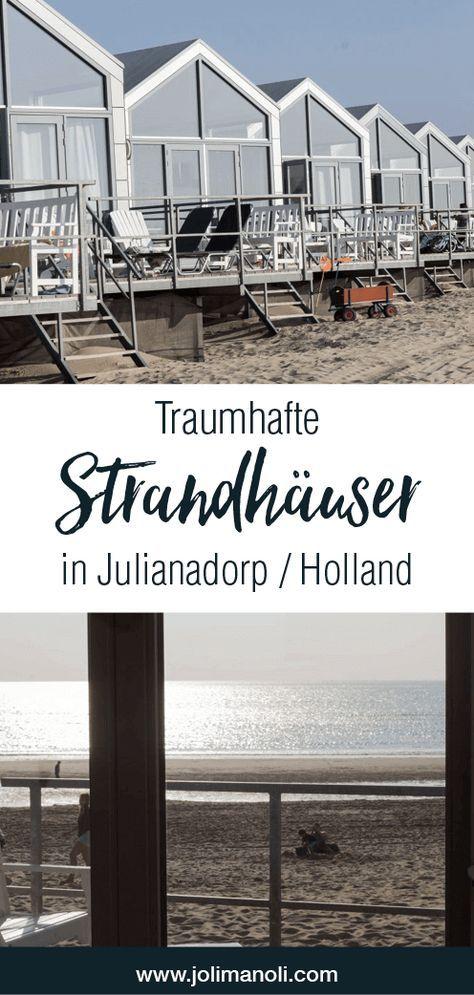 Strandhäuser in Julianadorp – Holland