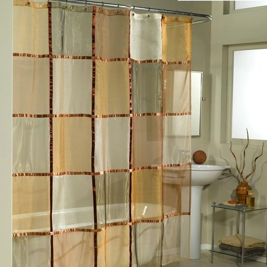 Mosaic Shower Curtain $30.00
