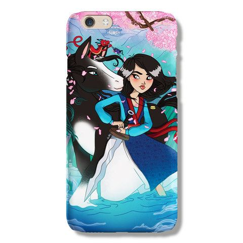 Mulan iPhone 6 case from The Dairy www.thedairy.com #TheDairy #PhoneCase #iPhone6 #iPhone6case