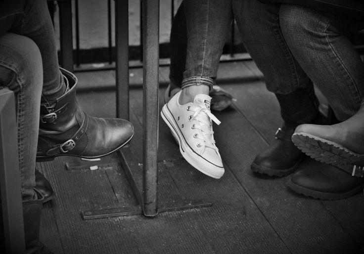 Standing Out. Photo by me, Alexander Chua. #converse #chucktaylor