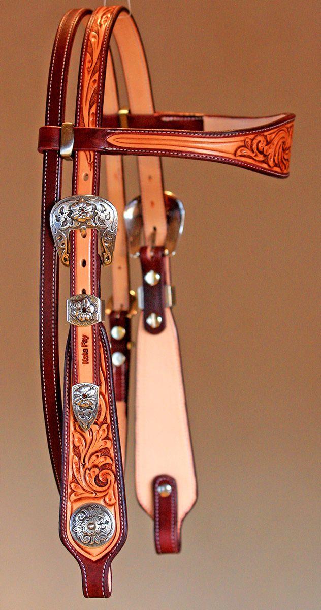 Headstalls | Kata Fay - Custom Leather