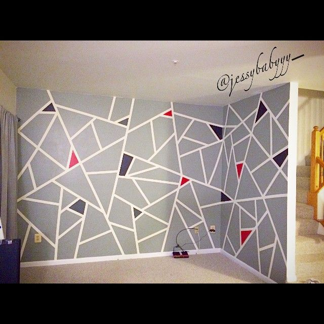 Best 25+ Tape painting ideas on Pinterest
