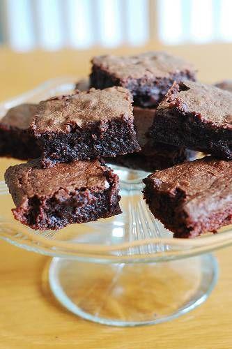 Chocolade brownies van Jamie Oliver.