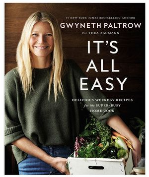 Fans of the health-conscious recipes featured on Gwyneth Paltrow's Goop newsletter will be delighted with this sunny, appealing cookbook—the actress's second. This time around the focus is on simple recipes designed to work for even the most hectic family life—without sacrificing taste, nutritiousness, or (of course) style.
