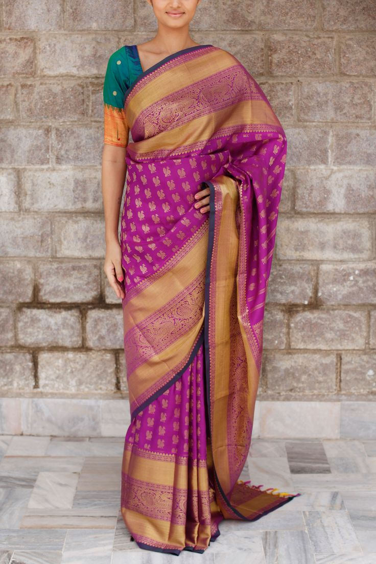 Kaladhvani Kanjeevaram Saree