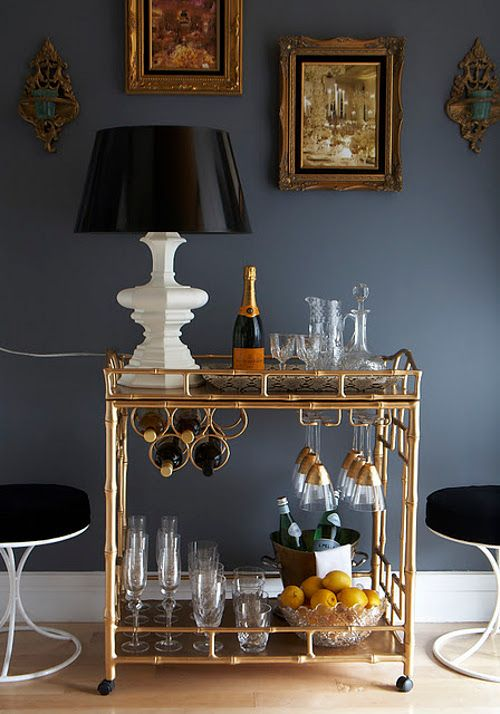 dustjacket attic: bar carts
