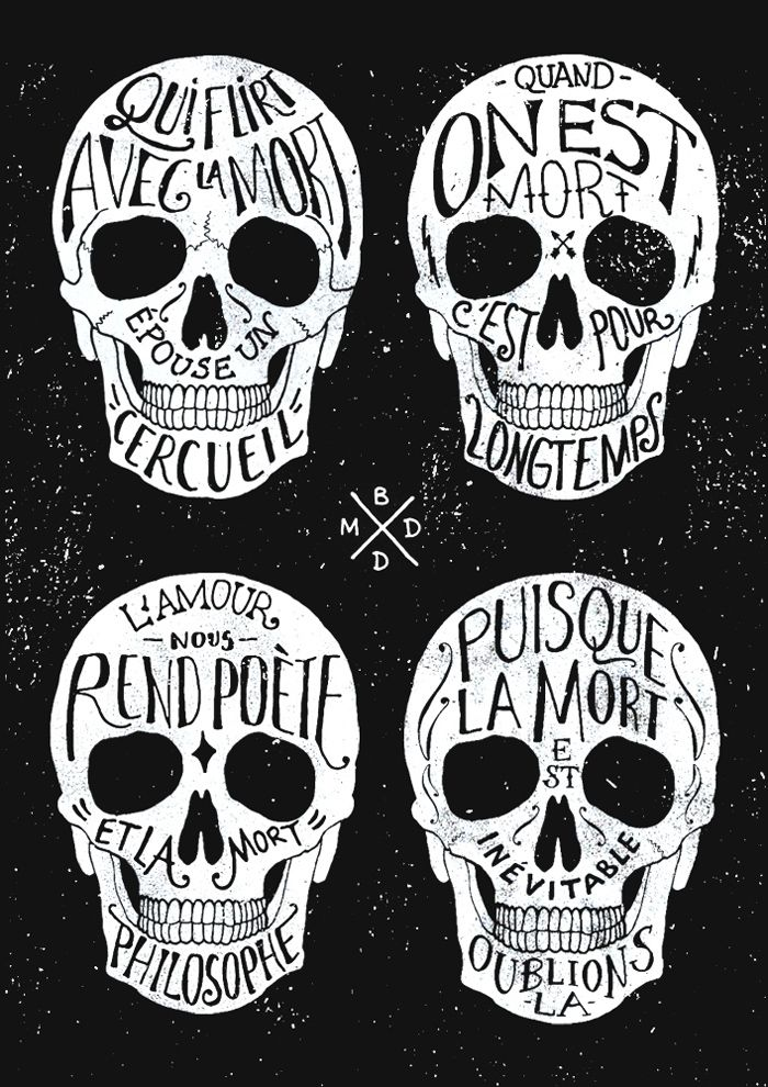 Skulls & Quotes / Bmd Design