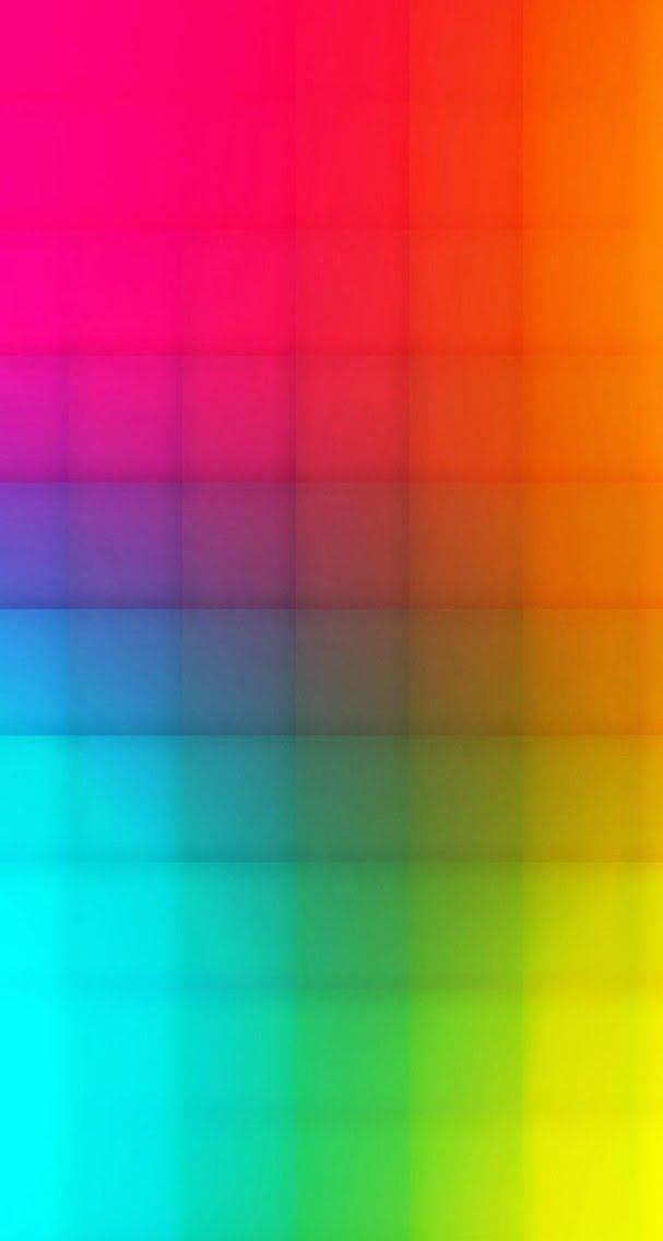 Rainbow | Arc-en-ciel | Arcobaleno | レインボー | Regenbogen | Радуга | Colours | Texture | Style | Form | gradient squares ✿