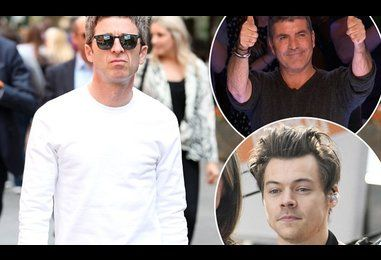 Noel Gallagher hits out at Harry Styles and Simon Cowell