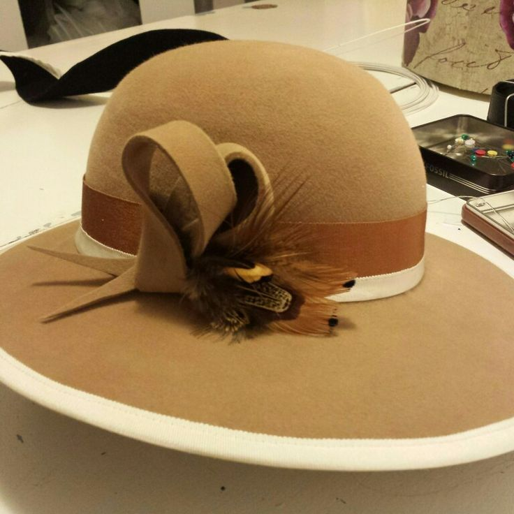 I am very happy with how this custom made #SOVATA creation has turned out. If you have ideas for a custom made creation you can always contact me   jade@sovata.com.au  #SOVATA #millinery #sovatafashion #felthat #canberrafashion #fashfest