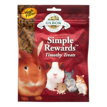 Oxbow Animal Health Simple Rewards Timothy Treat for Pets 1.4-Ounce by Oxbow Animal Health