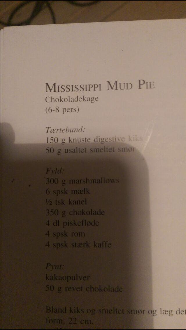 Mississippi Mudpie, s. 1