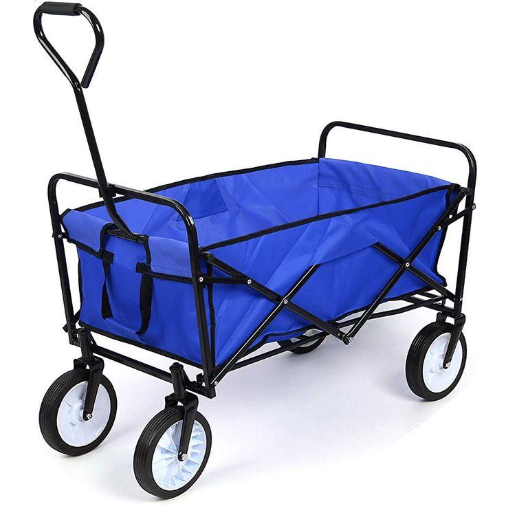 Homfa Transportkarre faltbar Bollerwagen Gerätewagen