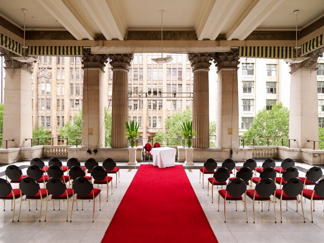 Weddings at the Melbourne Town Hall - Potico Room Balcony