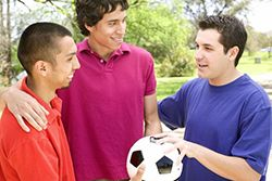SPANISH LANGUAGE. Regular Physical Activity boosts your physical health, your mental and emotional health, and your social health.