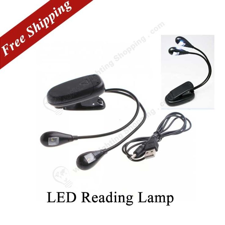 #Led #Book #Light, Clip with dual Arms, Flexible, Battery Power LED #Reading #Lamp  http://www.lightingshopping.com/led-book-light-clip-with-dual-arms-flexible-battery-power.html