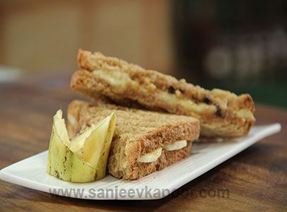 13 best mediterranean recipes by chef sanjeev kapoor images on how to make peanut butter and banana sandwich recipe by masterchef sanjeev kapoor forumfinder Images