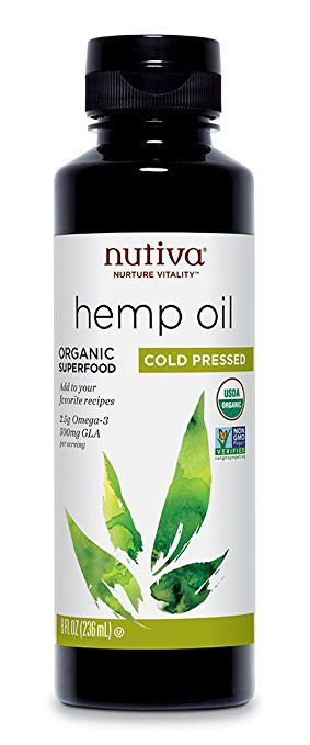 Nutiva Organic Hemp Oil, 8 Oz: Highly recommended at my MS support group meeting this week.