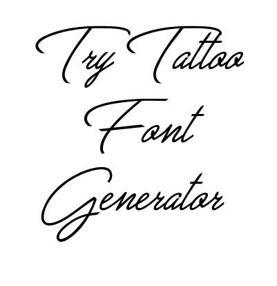 Best 25 tattoo lettering fonts ideas on pinterest for Tattoo template generator