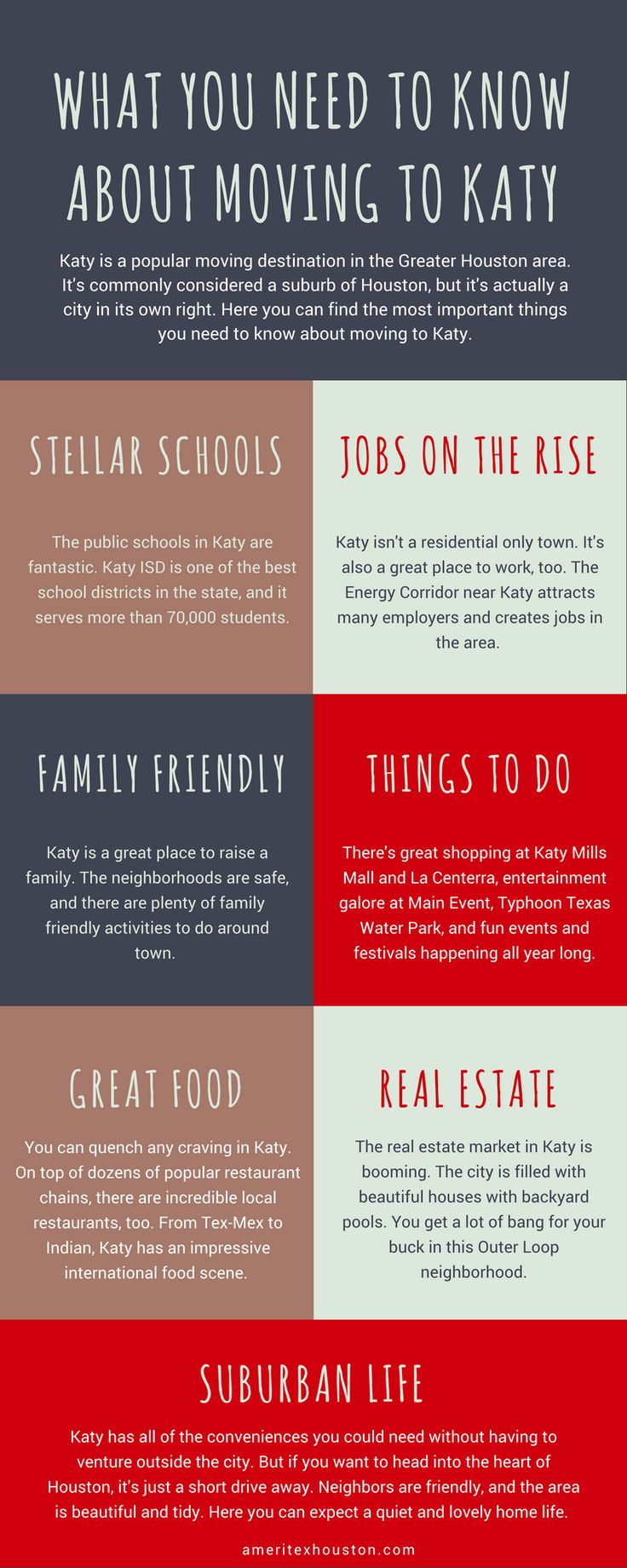 Katy, Texas is an awesome place to live! But before you make the move — read this.  #katy #texas #tx #moving #movers #katymovers #suburbs #houston #houstonmovers