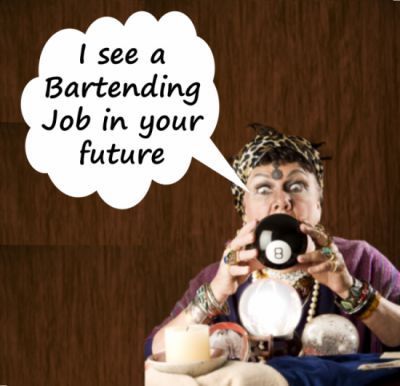 How you can get a high paying bar tending or restaurant job in the next week - without any experience!