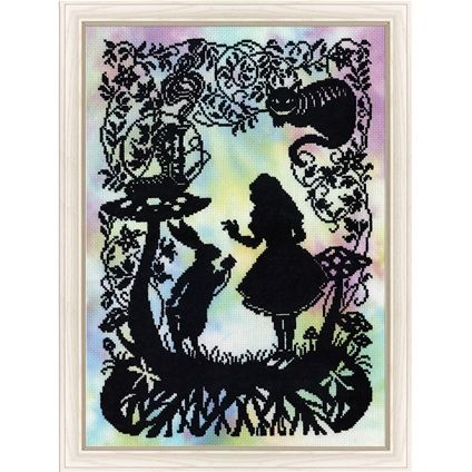 Alice in Wonderland #foxcollection #crossstitch #craft