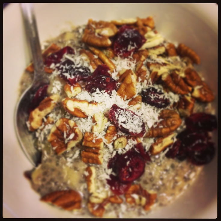 Recipe of the Month: Chia Seed Breakfast Bowl