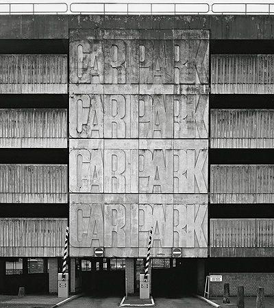 CAR PARK: Multistorey Cars, Letterpresses Architecture, Brutalism, Random Pins, Carpark, Letters Press, Architecture Typ, Garage Architecture Parks, Signage Cars Parks