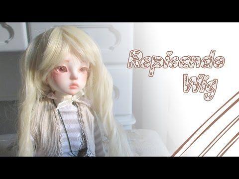 ▶ Como repicar franja de doll//How to cut bangs - Dolls - YouTube