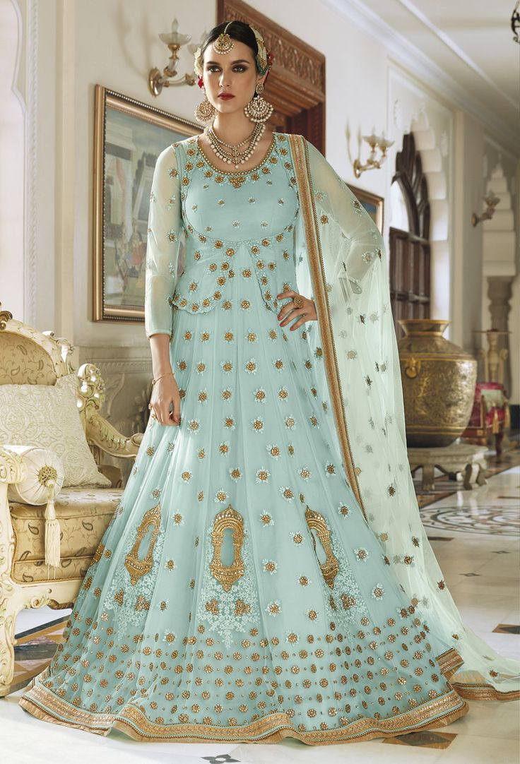 36 best anarkali suits images on Pinterest | Anarkali, Anarkali ...